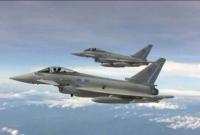 Британские истребители перехватили российские Су-30 над Балтийским морем