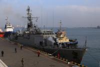 В Одесский порт прибыл корвет НАТО