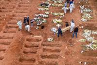В Бразилии объявили траур по жертвам COVID-19