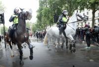 В Европе протестовали против полицейского насилия в США