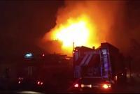 В российском городе загорелся крематорий (видео)